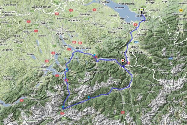 İsviçre Bisiklet Rotaları